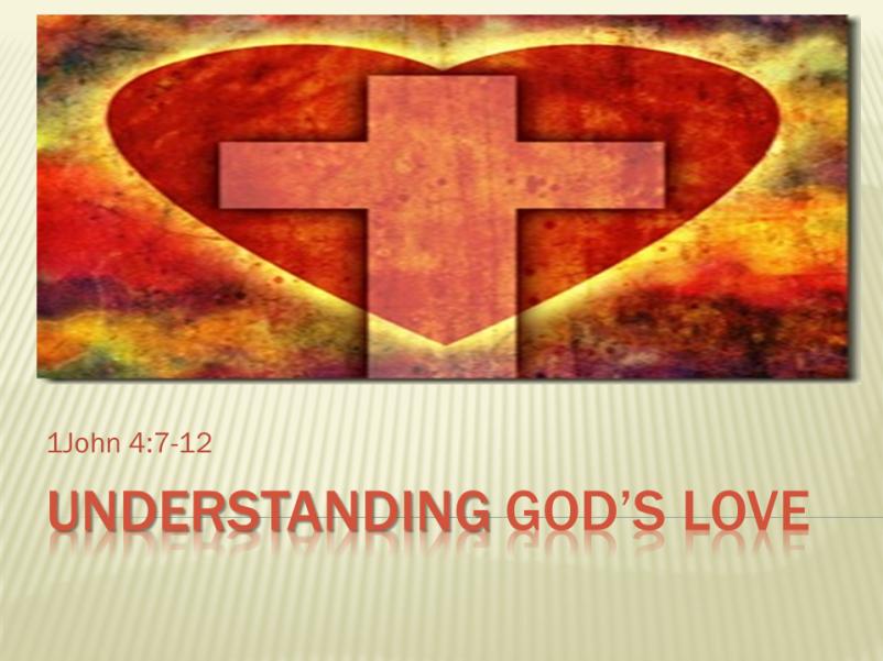Understanding God's Love