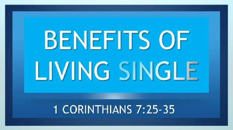 Benefits of Living Single