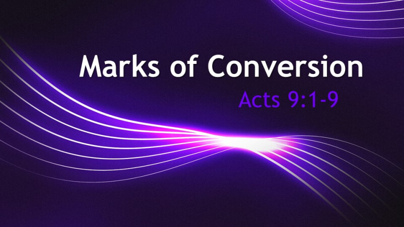 Marks of Conversion