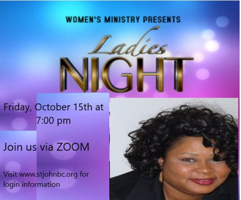 Ladies Night Out with Sis. Denise Reaves